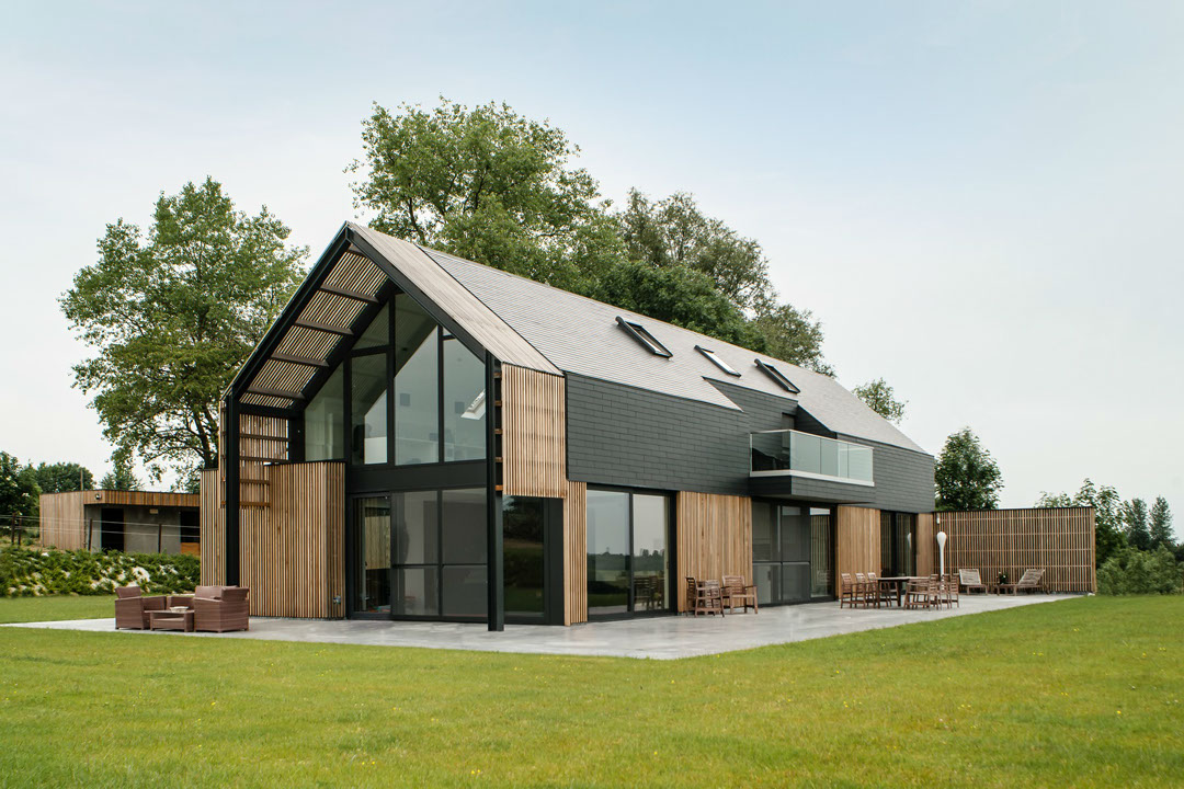Verbouwing oude hoeve tot moderne woonschuur sito architecten